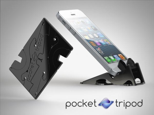 Pocket Tripod – подставка для смартфонов размером с карту VISA