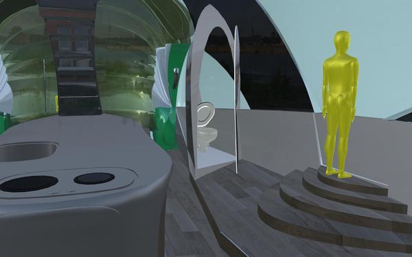 Crescasa Houseboat – плавающий дом для кочевников будущего