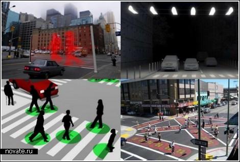 Необычные устройства для перехода улицы