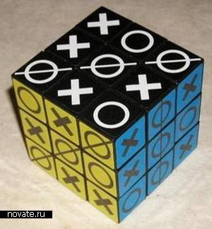 Кубик Рубика - крестики-нолики