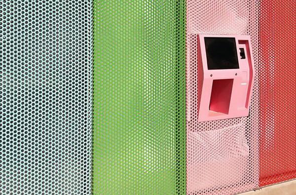 Cupcake Automat - банкомат, выдающий кексы