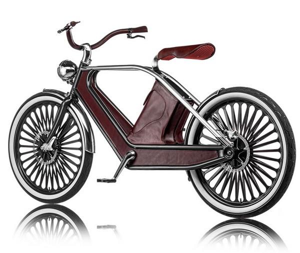 Cykno – электрический велосипед в стиле ретро