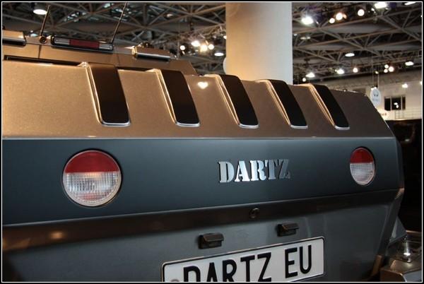 Dartz Prombron L4P Ladies – первый в мире внедорожник для женщин
