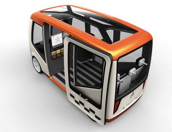 Visitor – автобус для гостей Праги