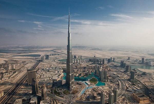 Бурдж Халифа – самый высокий в мире небоскреб