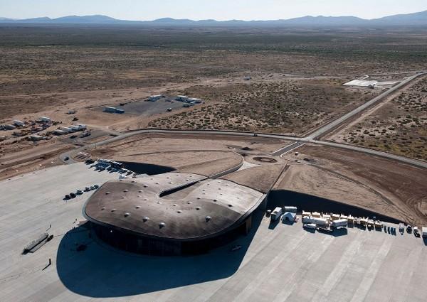 Spaceport America – первый в мире частный космопорт