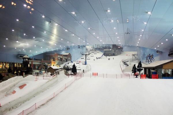 Ski Dubai – горнолыжный комплекс посреди Аравийской пустыни