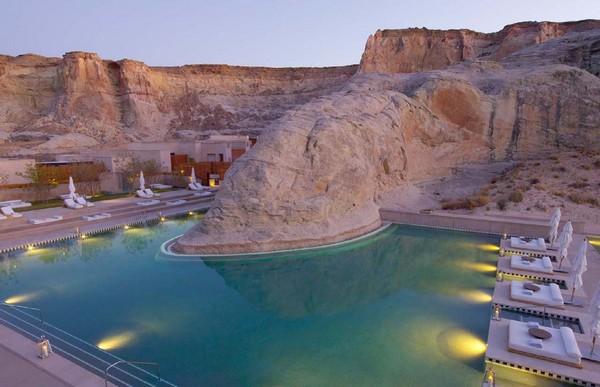 Amangiri Resort – роскошный курорт посреди пустыни Юта