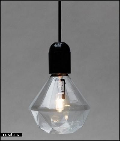 Лампочка-бриллиант