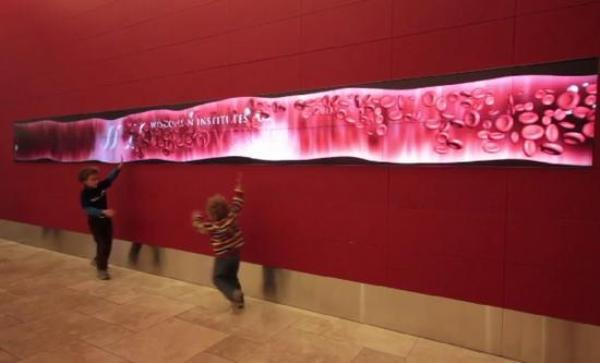 Giant digital wall в Висконсине