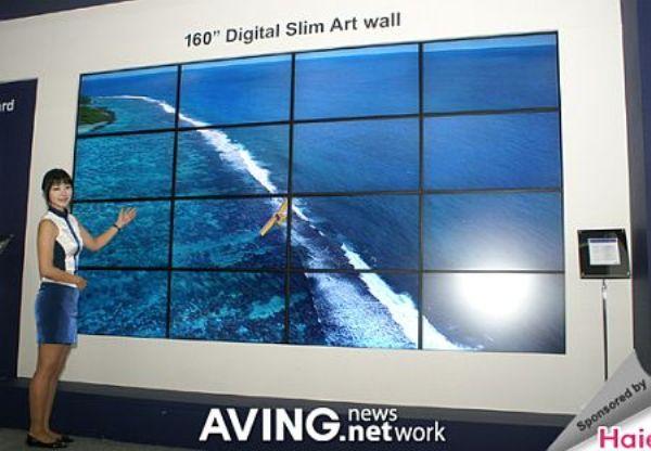 160-тидюймовый экран от DIBOSS