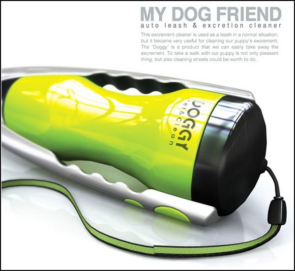 Doggy Poop Collector – поводок, который уберет за собакой