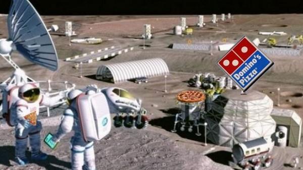 Domino планирует открыть первую на Луне пиццерию
