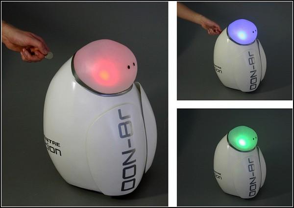 DON-8r – добрый робот, который собирает пожертвования