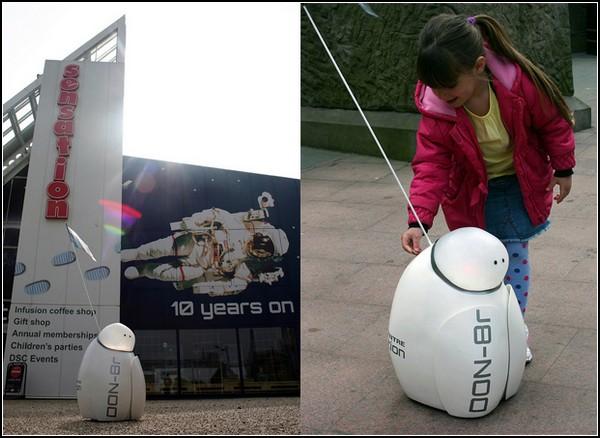 DON-8r – робот, предназначенный для благих целей