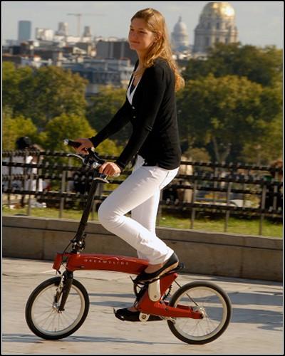 Dreamslide bike – велосипед без сидения