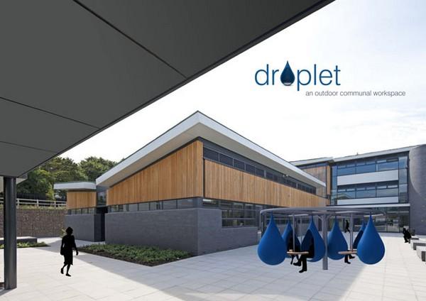 Droplet – рабочее место на открытом воздухе