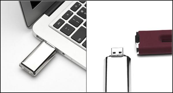 The Duet – вибратор с USB-флешкой