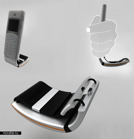 Зарядка для мобильного, работающая от тепла человеческого тела