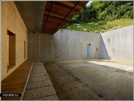 Подземный дом для творческих людей