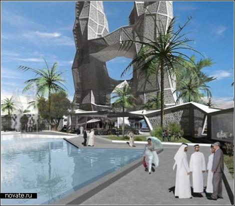Архитектура, основанная на арабском алфавите