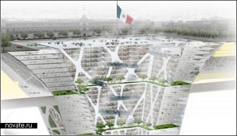 Подземный небоскреб в Мехико