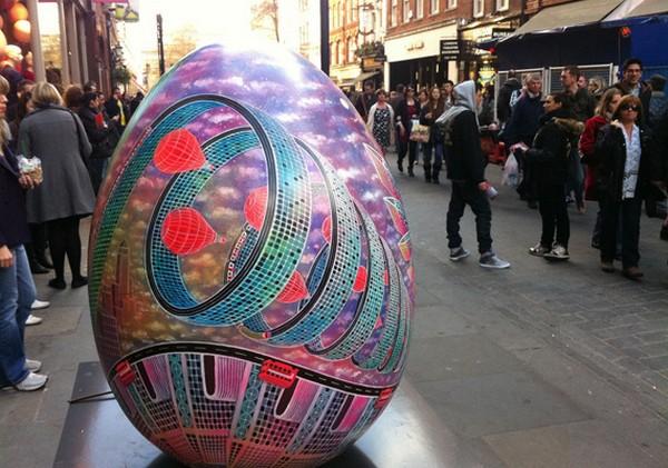 Пасхальный квест в Лондоне от известных художников
