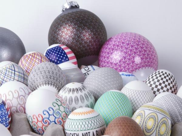 Eggbot – робот для раскраски пасхальных яиц