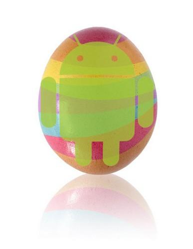 Пасхальное яйцо от Android