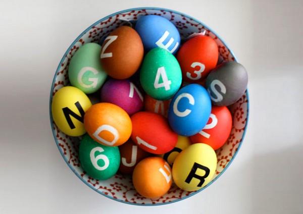 Пасхальные яйца в стиле Нью-Йоркского Метрополитена