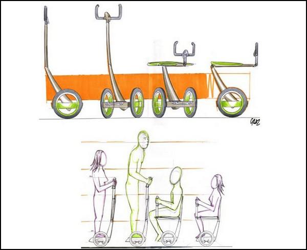 EAZ – Segway с сиденьем
