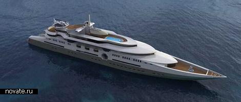 Самая большая в мире яхта для Абрамовича