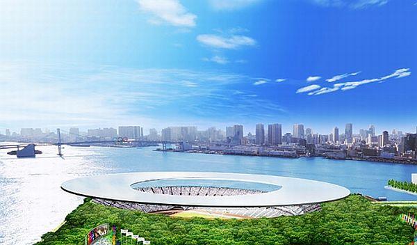 Олимпийский стадион в Токио