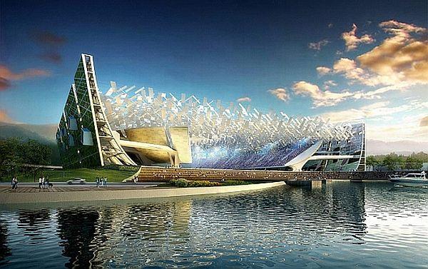 Стадион-сад для ФК Далянь Шидэ
