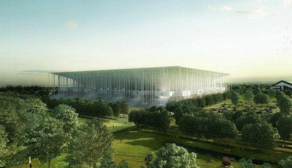 Солнечный стадион в Бордо
