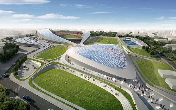 Пьезоэлектрический стадион в Индии