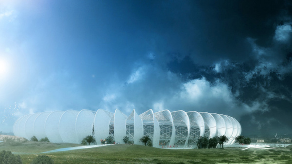 Стадион-оазис в Марокко