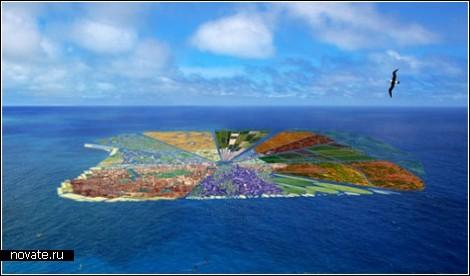 Плавучий остров вместо плавучего мусора