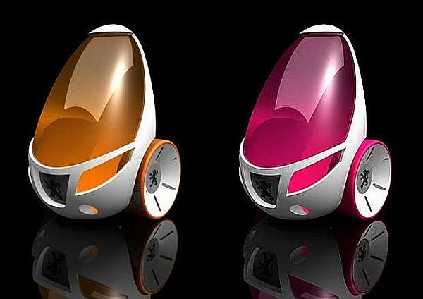 Яичный автомобиль Egg Car