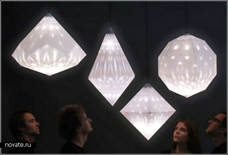 Бумажные фонарики от Swarovski
