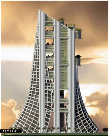 Эйфелева башня в Дубаи