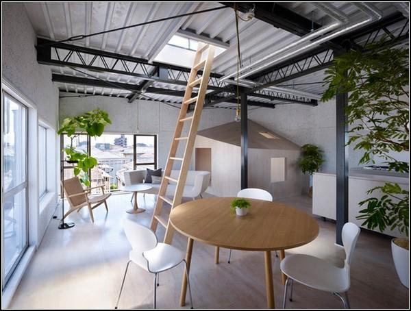 Дом со стеклянной мансардой в Токио от Suppose Design Office