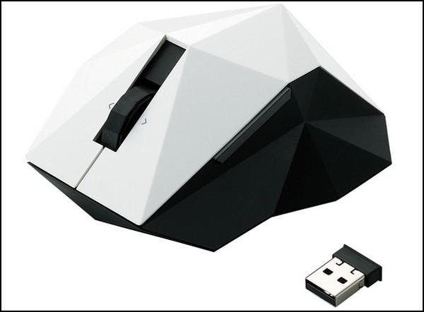 Мышка Elecom Nendo Orime Mouse в стиле оригами