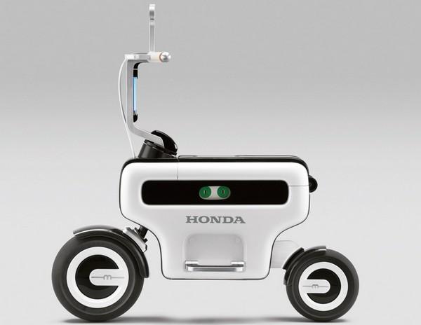 Складывающийся электровелосипед Honda Motor Compo