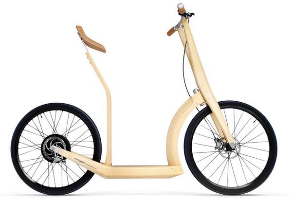 Бамбуковый электробайк T20
