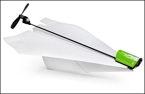 Как сделать самолет с моторчиком в домашних условиях