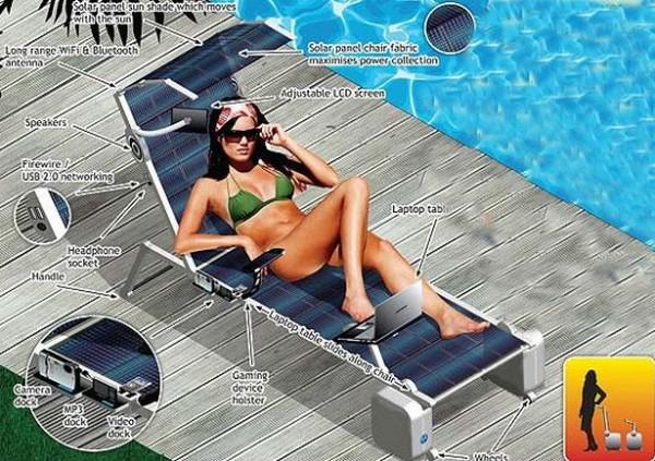 Солнечный шезлонг Sun Lounger