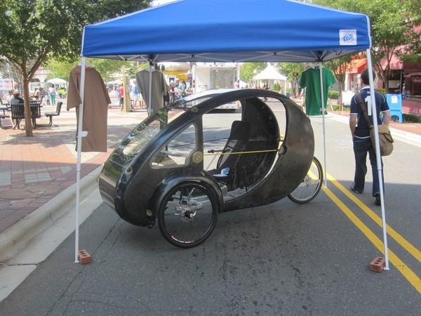 ELF — самый миниатюрный и экономный автомобиль в мире