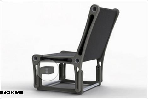 Кресло-качалка вместо генератора