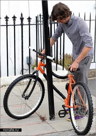 Велосипед, который сам себя охраняет